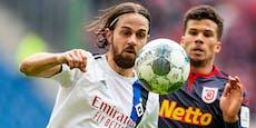 Harnik wechselt in die 5. deutsche Liga