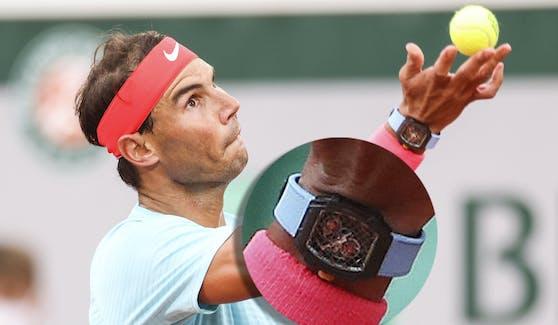 Rafael Nadal kann Ihnen sagen, wie spät es ist.