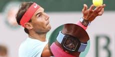 Nadal schlägt in Paris mit 1-Million-Dollar-Uhr auf