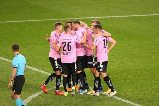 Der LASK spielt zum zweiten Mal in Folge in der Europa League.