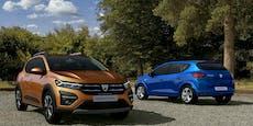 Mehr Komfort und Sicherheit für den neuen Dacia Sandero