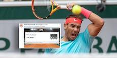 Nadal putzt McDonald, Burger King reagiert auf Twitter