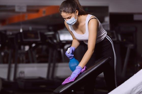 Im Fitnessstudio gilt es auch ohne Coronavirus-Pandemie einige Regeln zu beachten.