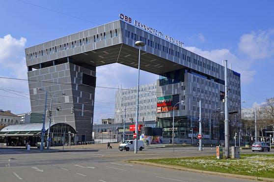 Die BahnhofCity Wien West in Rudolfsheim-Fünfhaus.