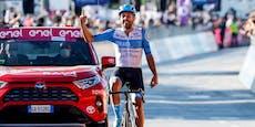 Teamkollege gewinnt, Brändle bei Giro-Etappe Fünfter