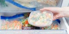 Der gefährlichste Fehler beim Auftauen von Tiefkühlkost