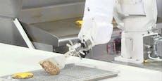 Dieser Roboter brät deine Burger und frittiert Pommes