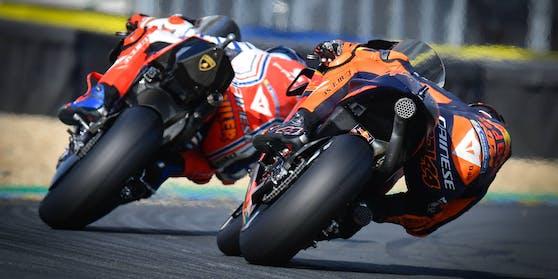 Die MotoGP in Le Mans brachte ein überraschendes Podest.