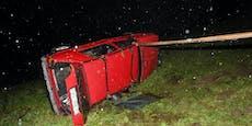 Elf (!) Insassen in VW Golf! War Fahrer (26) betrunken?
