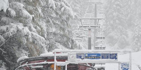 Schnee-Impressionen aus Obertauern