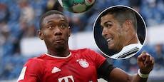 Wird David Alaba ein Teamkollege von Cristiano Ronaldo?