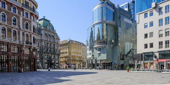 Beim ersten Lockdown waren Wiens Straßen leergefegt.