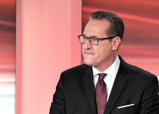 Sieht beim Wahlergebnis rot: Heinz-Christian Strache scheiterte mit seinem Team.