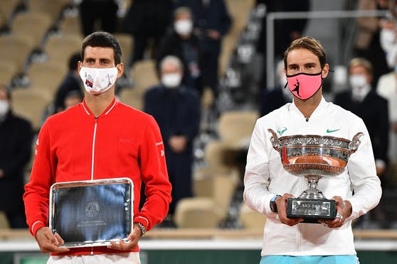 Novak Djokovic ist ein fairer Verlierer.
