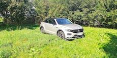 Hoch oben ohne: VW T-Roc Cabrio im Test