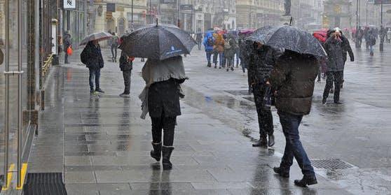In Österreich wird es jetzt wieder winterlich.
