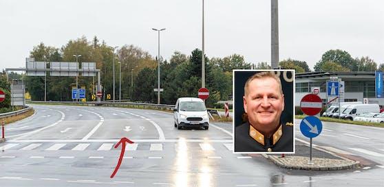 Der Linzer Stadtpolizeichef stoppte die Geisterfahrerin auf der A7 bei Dornach.