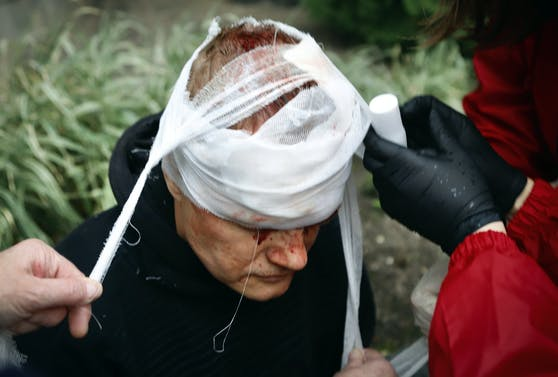 Mehr als 700 Demonstranten wurden teilweise gewaltsam festgenommen.