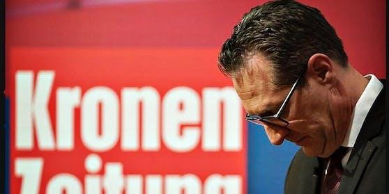 """Einst wollte er die """"Krone"""" kaufen, nun muss er Groschen zählen: Heinz-Christian Strache"""