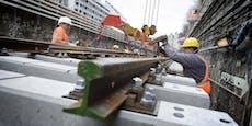Wiener U-Bahn fährt am Wochenende nur eingeschränkt