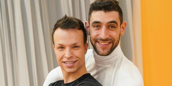 Kein endgültiger Abschied: Tamara Mascara – beim Training als Raphael – und Tanzpartner Dimitar haben gemeinsame Projekte in Planung.