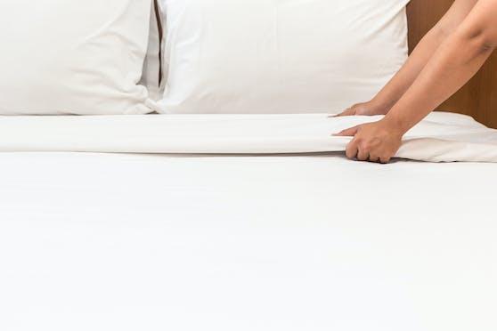 Ein ungepflegtes Bett kann unter Umständen das Sexleben negativ beeinflussen.