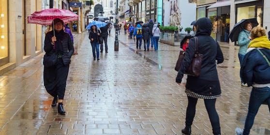 Es wird trüb und regnerisch in Wien.