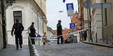 Schüsse vor kroatischem Regierungsgebäude