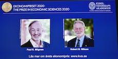Auktionsforscher erhalten Wirtschafts-Nobelpreis