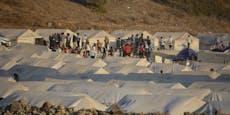 Griechenland baut neues Flüchtlingslager auf Lesbos