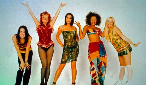 """Die """"Spice Girls"""", wie man sie kennt."""