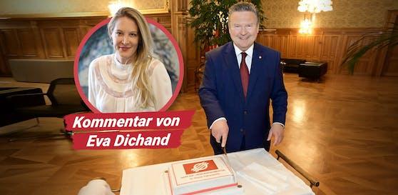 Michael Ludwig ist der große Wahlgewinner. Wer bekommt in den Koalitionsverhandlungen ein Stück vom Kuchen?