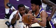 Vergessen! Lakers-Star ruft nach Meisterparty um Hilfe