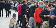 Wegen 12 Corona-Fällen testet China 9 Mio. Menschen