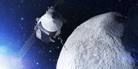 """Der Asteroid """"Bennu"""" wurde 1999 entdeckt und könnte mit der Erde kollidieren."""