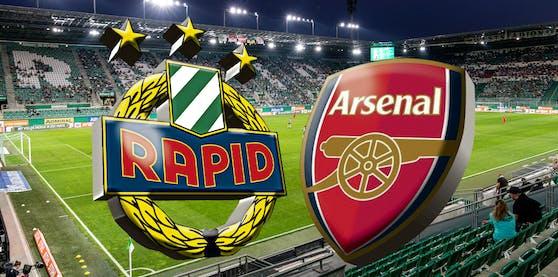 Rapid trifft in der Europa League zum Auftakt auf Arsenal London