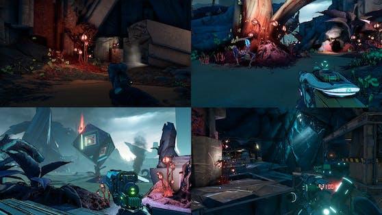 Alle Next-Gen-Konsolen unterstützen auch lokalen Multiplayer am Splitscreen für 3 und 4 Spieler.