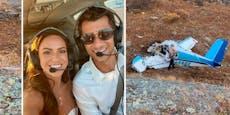 Frisch verheiratetes Paar stirbt bei Flugzeugabsturz