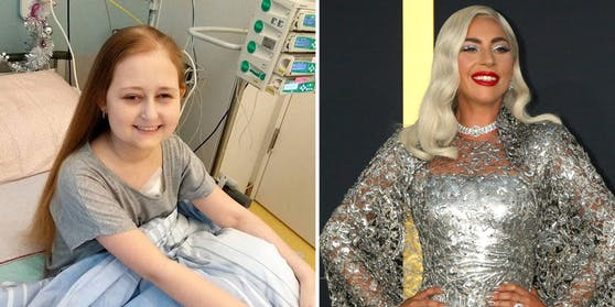 Die krebskranke Grace Mertens ist ein begeisterter Fan von Lady Gaga. Ihr Idol hat der Patientin jetzt tröstende Worte geschickt.