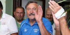 Rapid-Legende Panenka wird aus dem Spital entlassen