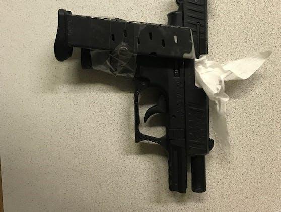 Mit dieser Waffe wurde ein 27-Jähriger bedroht.