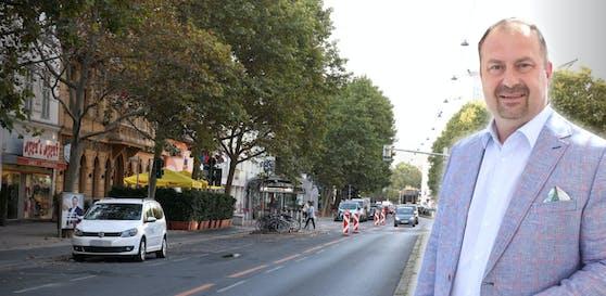 Leopoldstadts neuer Bezirkschef will die Pläne für die neue Praterstraße überarbeiten und dabei die Bevölkerung einbeziehen.