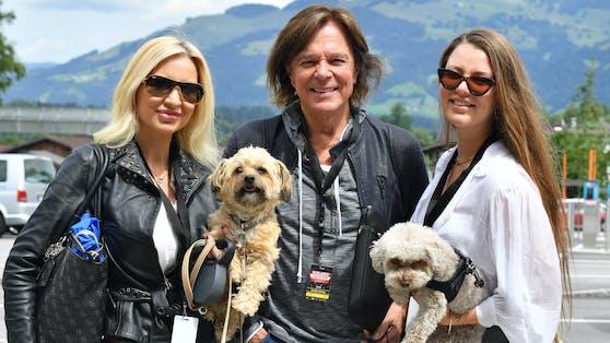 Schlager-Ikone Jürgen Drews mit Frau Corinna und Tochter Joelina