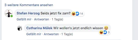 """""""fix zam?"""" – Postings von Stefan Herzog und Catharina Málek"""