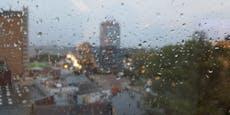 Sintflut-Regen! Jetzt schüttet es wie aus Kübeln