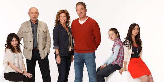 """Die Baxters: Tim Allen (3.v.r.) und seine """"Last Man Standing""""-Familie"""