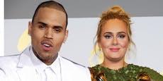 Läuft da was? Chris Brown besuchte Adele in der Nacht