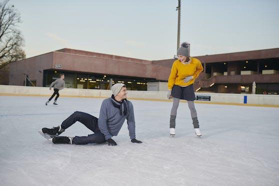 Im Parkbad startet die Eislaufsaison im Freien schon in den Herbstferien.