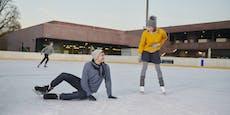 Eislauf-Saison im Freien startet in Linz früher