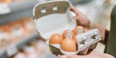 Passanten mit rohen Eiern beworfen, Täter gefasst